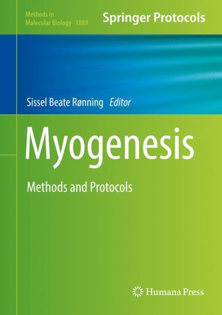 Cover of 'Myogenesis'