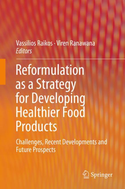 Cover of 'Reformulation as a Strategy for Developing Healthier Food Products'