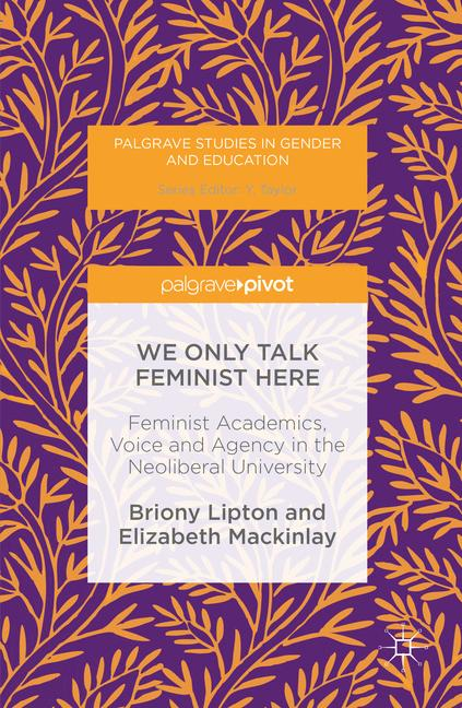 Cover of 'We Only Talk Feminist Here'