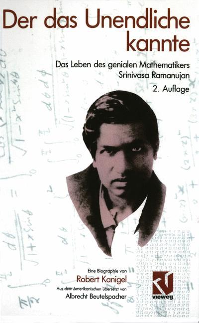 Cover of 'Der das Unendliche kannte'