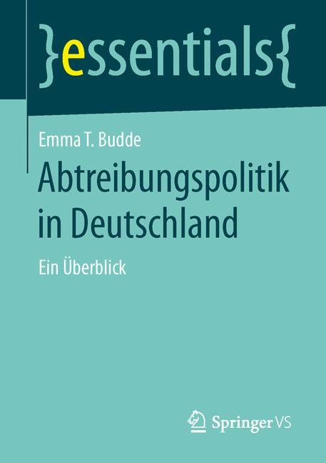 Cover of 'Abtreibungspolitik in Deutschland'