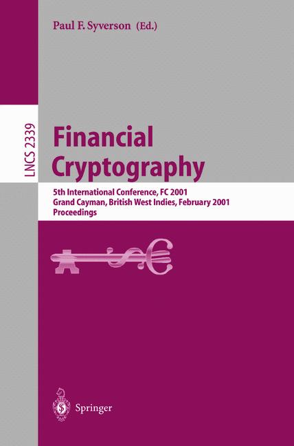 Cover of 'Financial Cryptography'