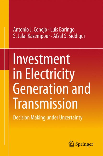 Cover of 'Investment in Electricity Generation and Transmission'