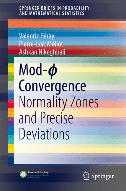 Cover of 'Mod-ϕ Convergence'