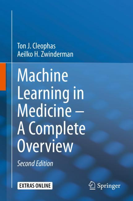 Cover of 'Machine Learning in Medicine – A Complete Overview'