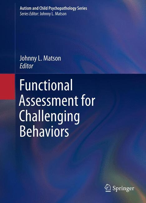 Cover of 'Functional Assessment for Challenging Behaviors'