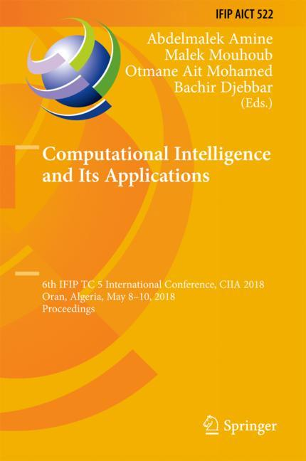 Cover of 'Computational Intelligence and Its Applications'