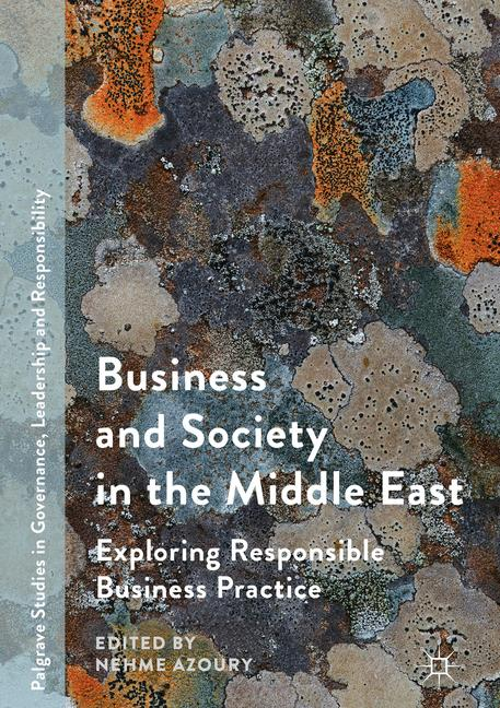 Cover of 'Business and Society in the Middle East'