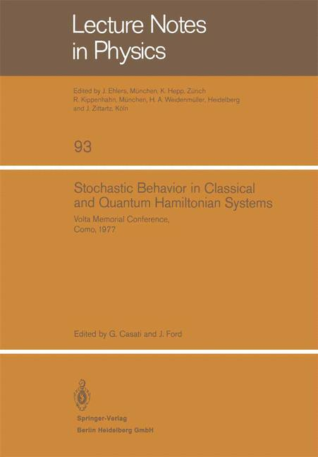 Cover of 'Stochastic Behavior in Classical and Quantum Hamiltonian Systems'