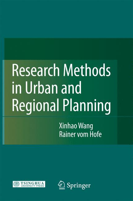 Cover of 'Research methods in urban and regional planning'