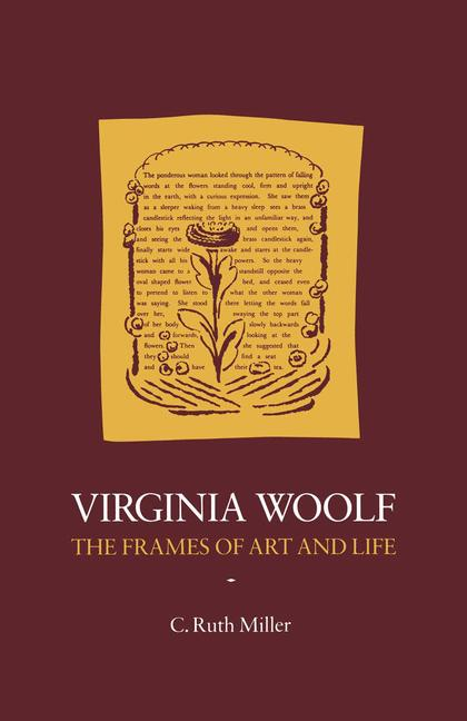 Cover of 'Virginia Woolf : the frames of art and life'