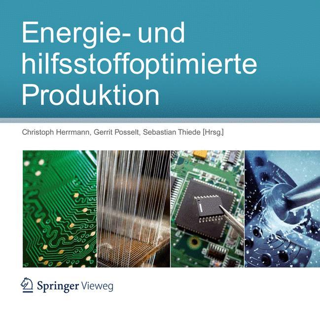 Cover of 'Energie- und hilfsstoffoptimierte Produktion'