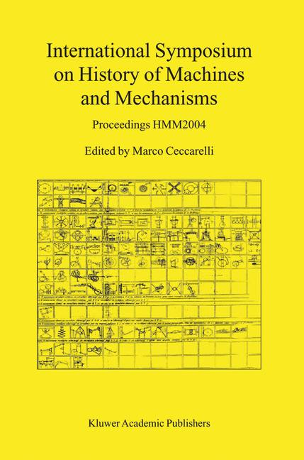 Cover of 'International Symposium on History of Machines and Mechanisms'
