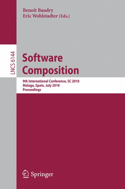 Cover of 'Software Composition'