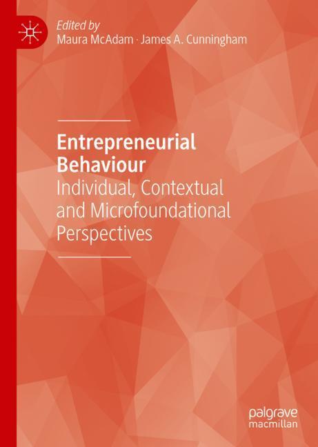 Cover of 'Entrepreneurial Behaviour'