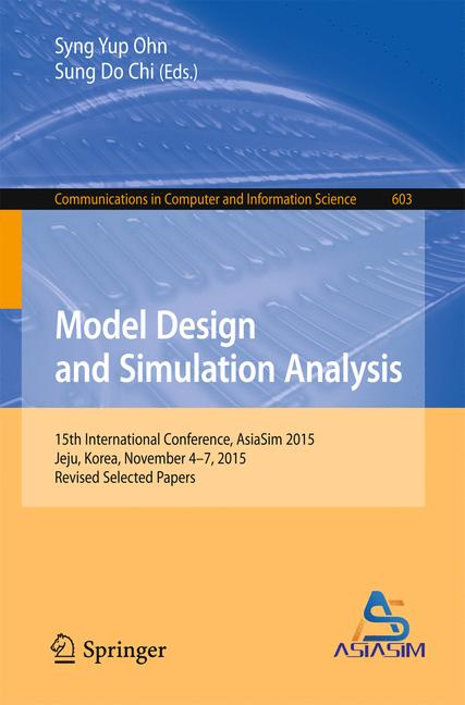 Cover of 'Model Design and Simulation Analysis'