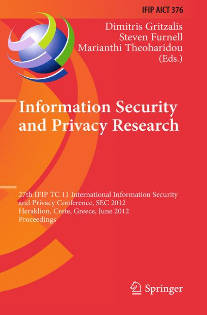 Cover of 'Information Security and Privacy Research'