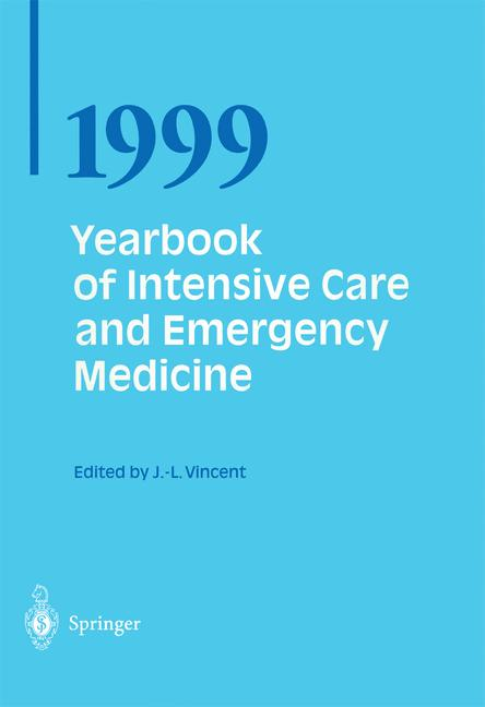 Cover of 'Yearbook of Intensive Care and Emergency Medicine 1999'