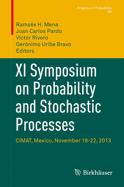Cover of 'XI Symposium on Probability and Stochastic Processes'