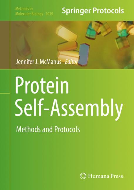 Cover of 'Protein Self-Assembly'