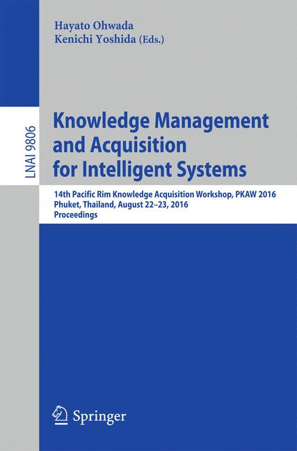 Cover of 'Knowledge Management and Acquisition for Intelligent Systems'