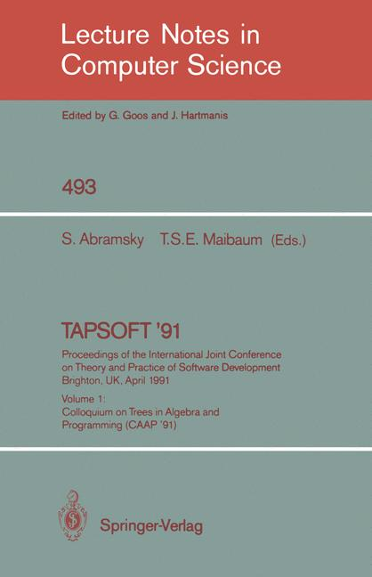 Cover of 'TAPSOFT '91'