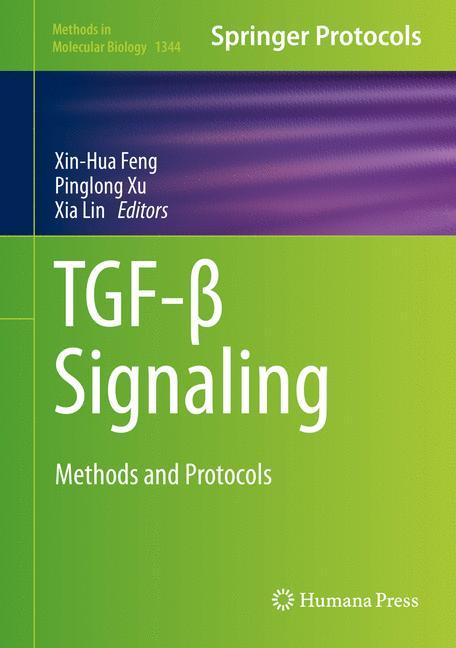 Cover of 'TGF-β Signaling'