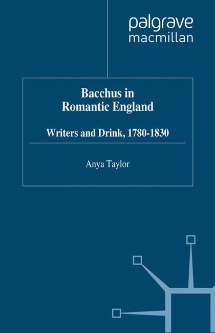 Cover of 'Bacchus in Romantic England'