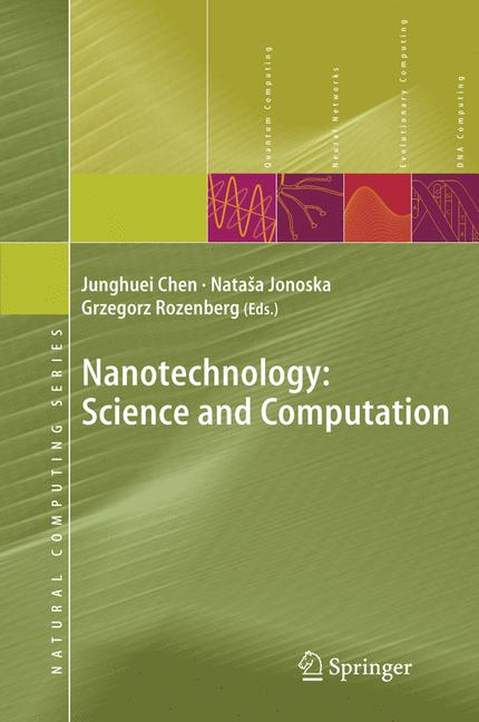 Cover of 'Nanotechnology: Science and Computation'