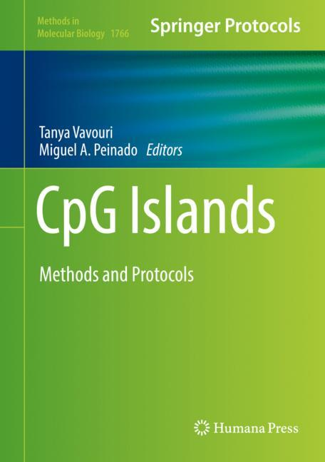 Cover of 'CpG Islands'