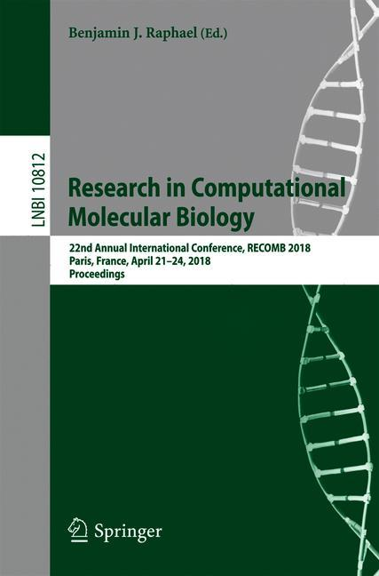 Cover of 'Research in Computational Molecular Biology'