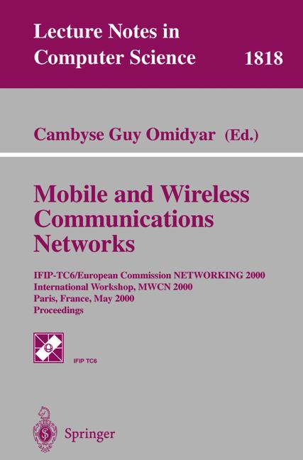 Cover of 'Mobile and Wireless Communications Networks'