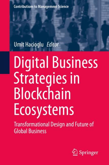 Cover of 'Digital Business Strategies in Blockchain Ecosystems'