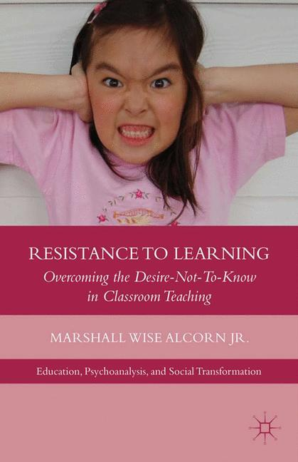 Cover of 'Resistance to Learning'