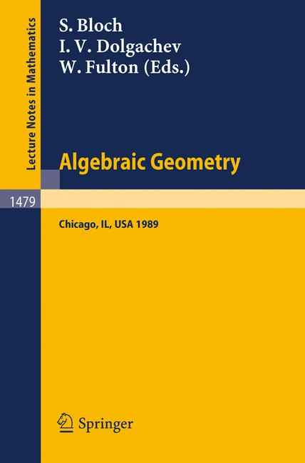 Cover of 'Algebraic Geometry'