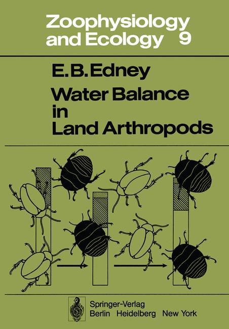 Cover of 'Water Balance in Land Arthropods'