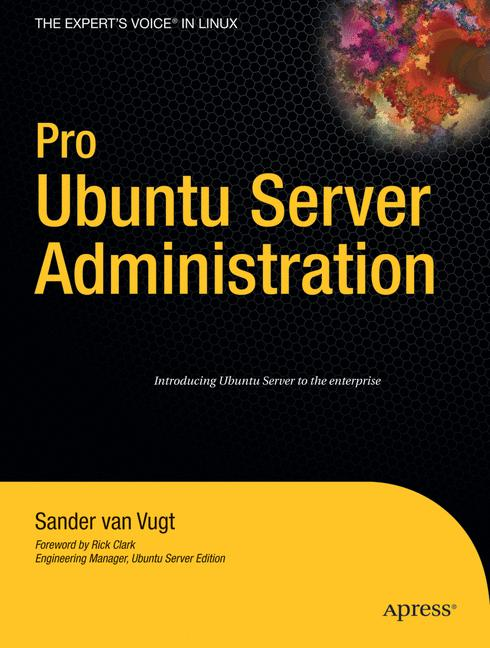 Cover of 'Pro Ubuntu server administration'