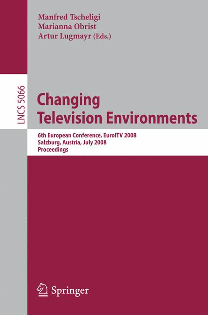 Cover of 'Changing Television Environments'