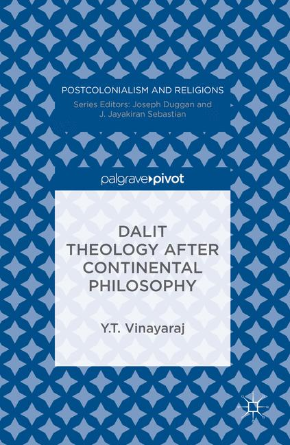 Cover of 'Dalit Theology after Continental Philosophy'