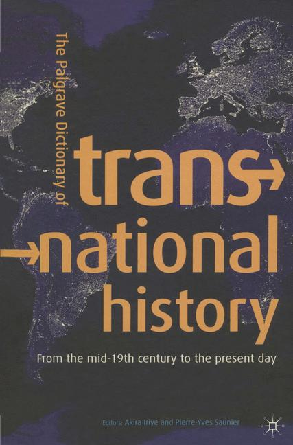 Cover of 'The Palgrave Dictionary of Transnational History'