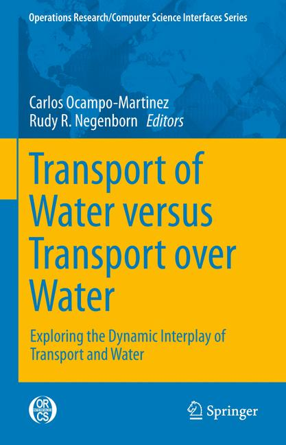 Cover of 'Transport of Water versus Transport over Water'