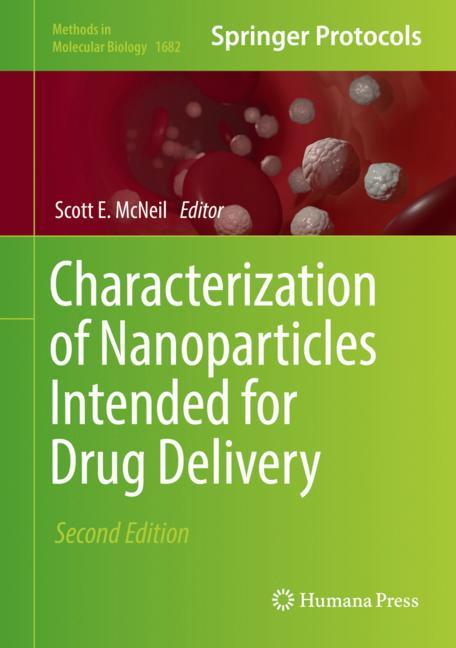 Cover of 'Characterization of Nanoparticles Intended for Drug Delivery'