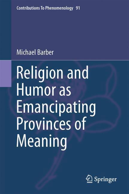 Cover of 'Religion and Humor as Emancipating Provinces of Meaning'