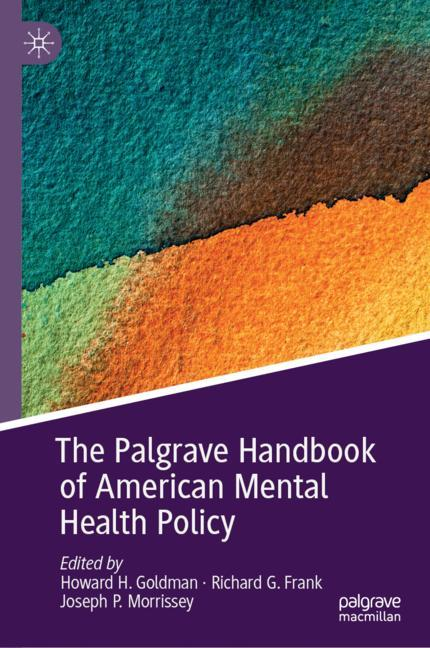 Cover of 'The Palgrave Handbook of American Mental Health Policy'
