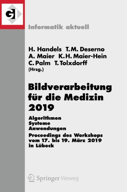 Cover of 'Bildverarbeitung für die Medizin 2019'
