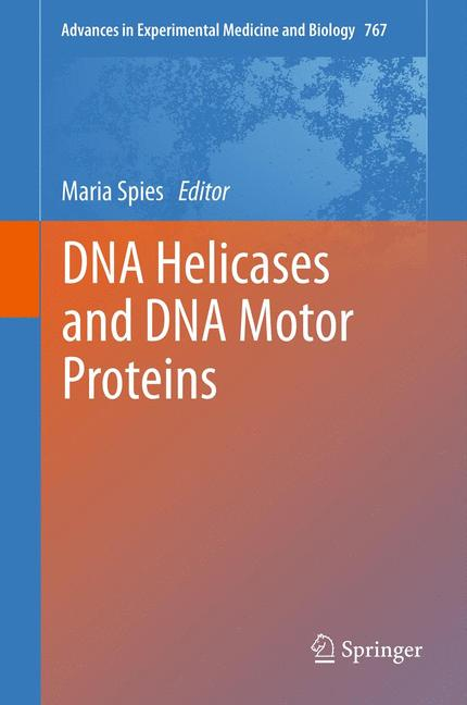 Cover of 'DNA Helicases and DNA Motor Proteins'