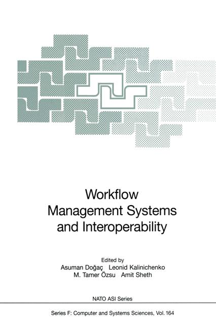 Cover of 'Workflow Management Systems and Interoperability'