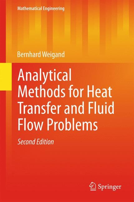 Cover of 'Analytical Methods for Heat Transfer and Fluid Flow Problems'