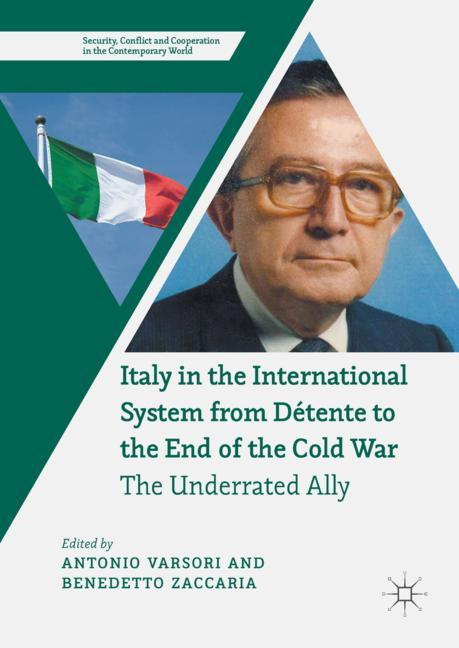 Cover of 'Italy in the International System from Détente to the End of the Cold War'