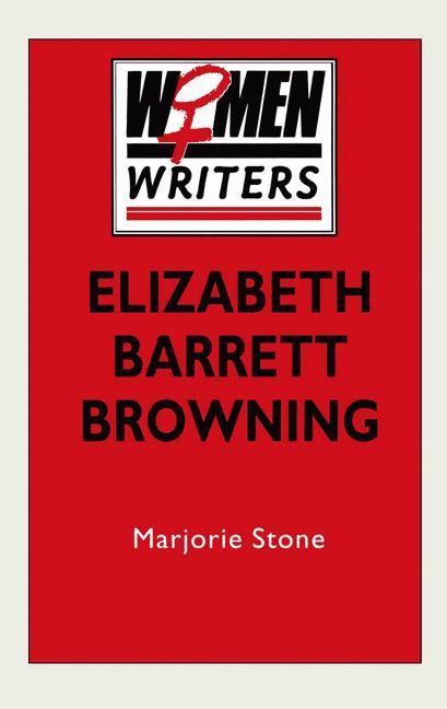 Cover of 'Elizabeth Barrett Browning'